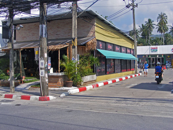HD Burger in Nathon, next to Tesco