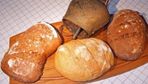 Our sour dough breads -